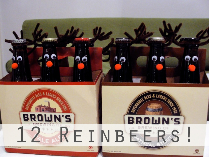 12 reinbeers diy craft