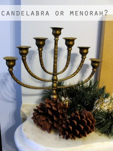 candelabra or menorah