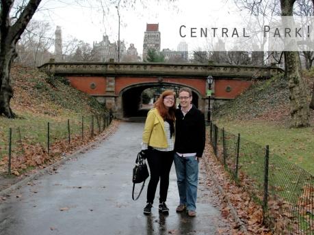 Central Park November 2012