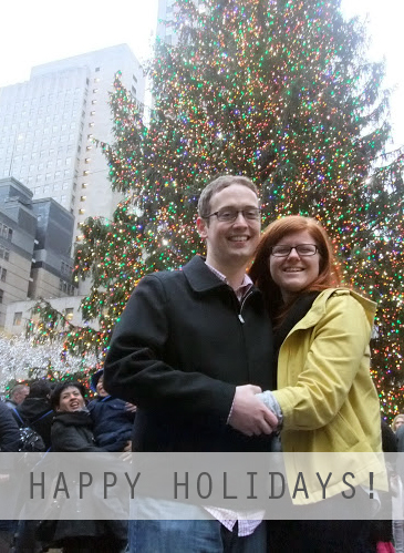 George and I Happy Holidays