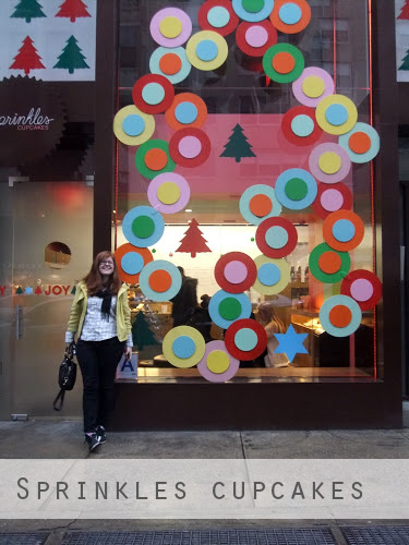Outside Sprinkles Cupcakes NYC