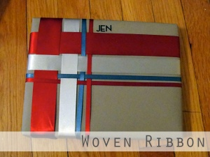 Woven Ribbon Gift