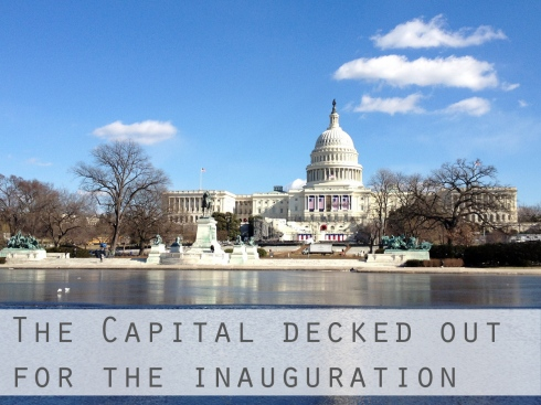 The Capital For the Inauguration