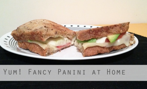 Cooked Panini at home