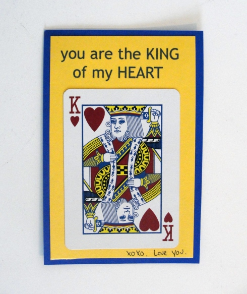 King of my heart Valentine