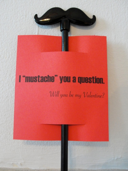 Mustache you a question Valentine