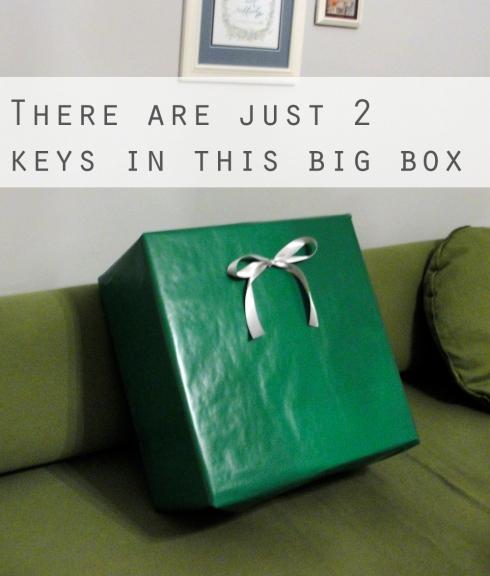 nesting boxes gift idea