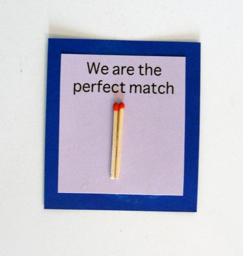 perfect match valentine