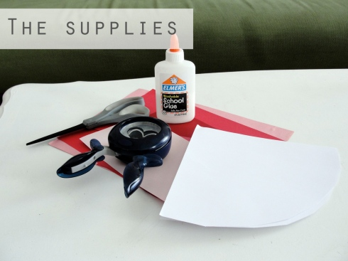 Valentines craft supplies