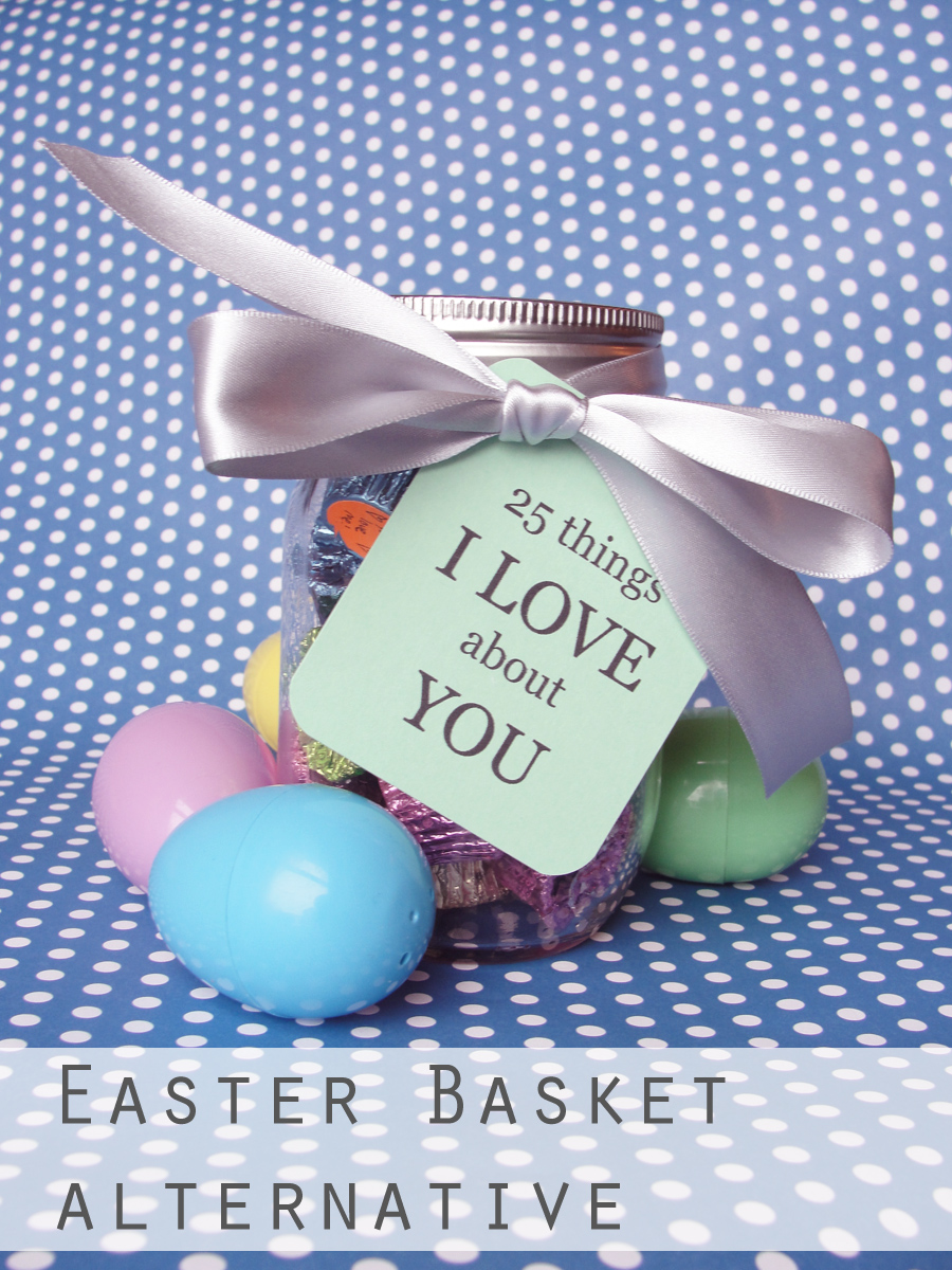 Diy the thrifty ginger boyfriend easter basket alternative negle Choice Image