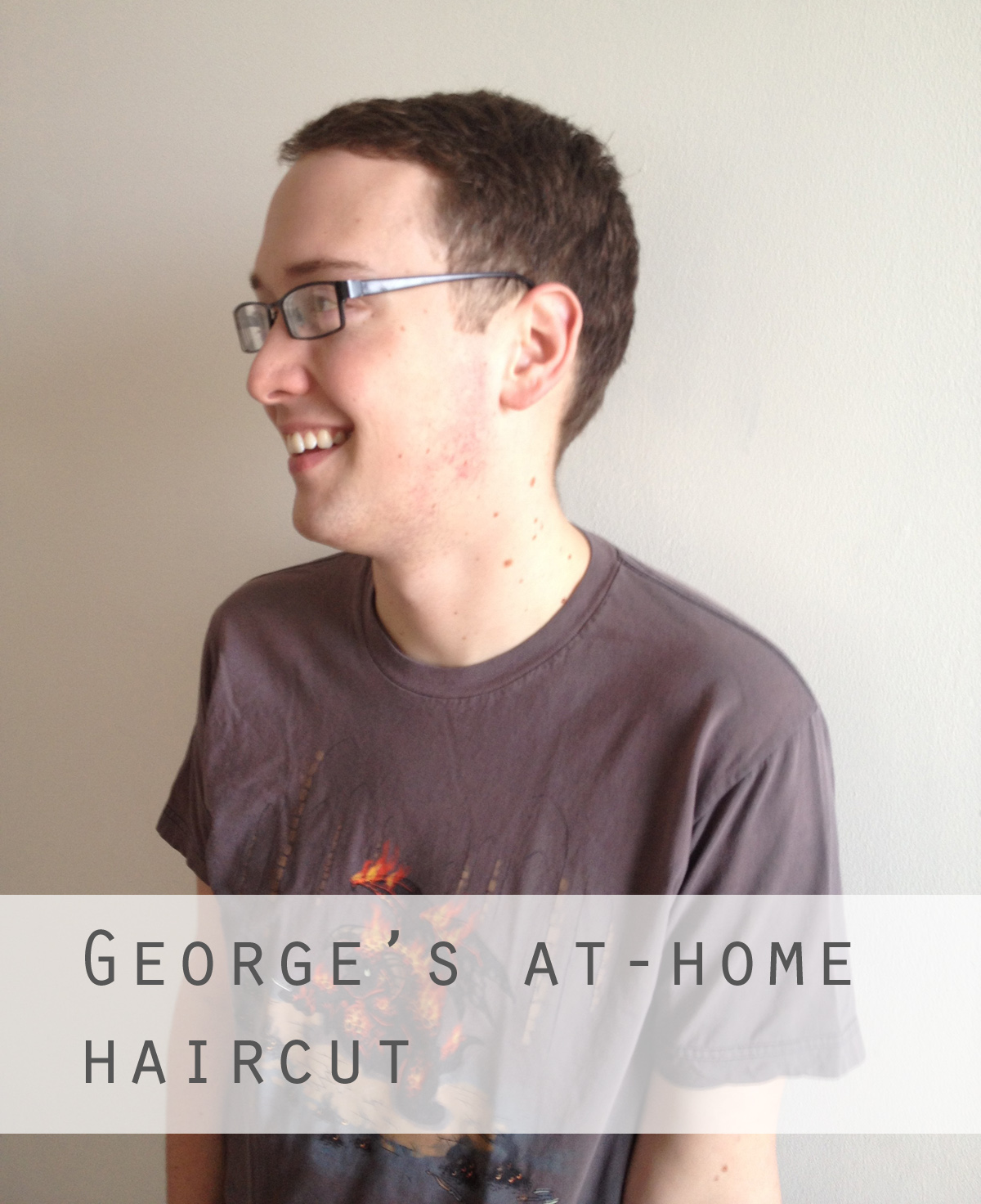 Haircut At Home The Thrifty Ginger